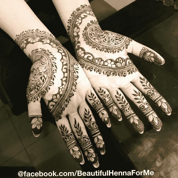 Adorable Jewelry Henna Design