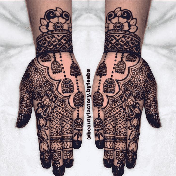 Angelic Jewelry Henna Design