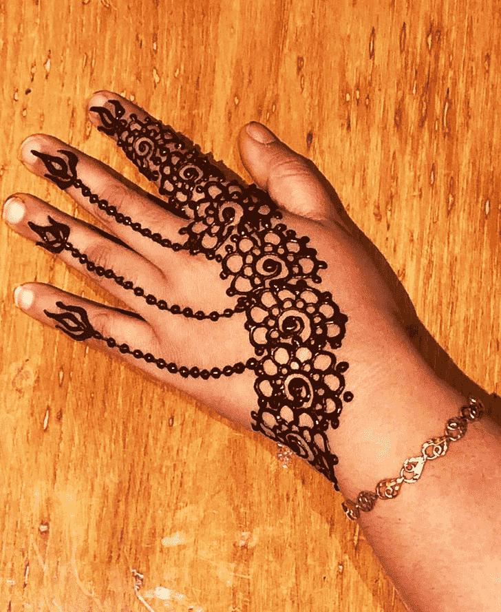 Bewitching Jewelry Henna Design