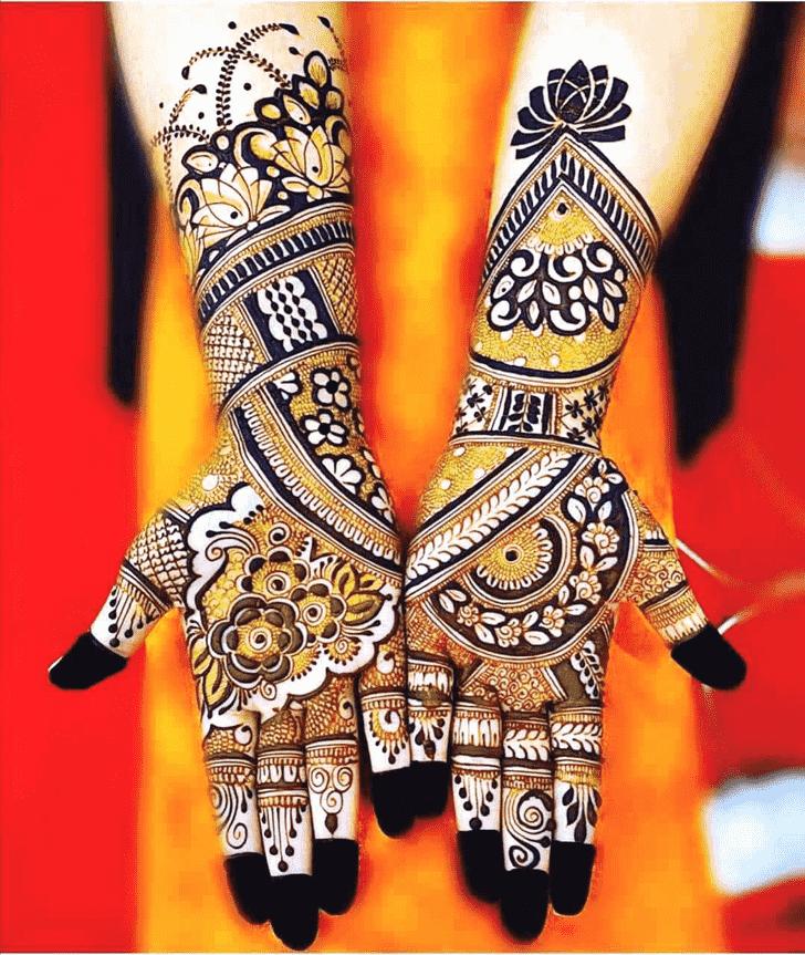 Angelic Jodhpur Henna Design