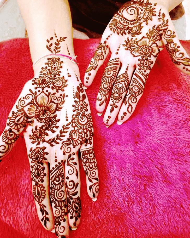 Appealing Jodhpur Henna Design
