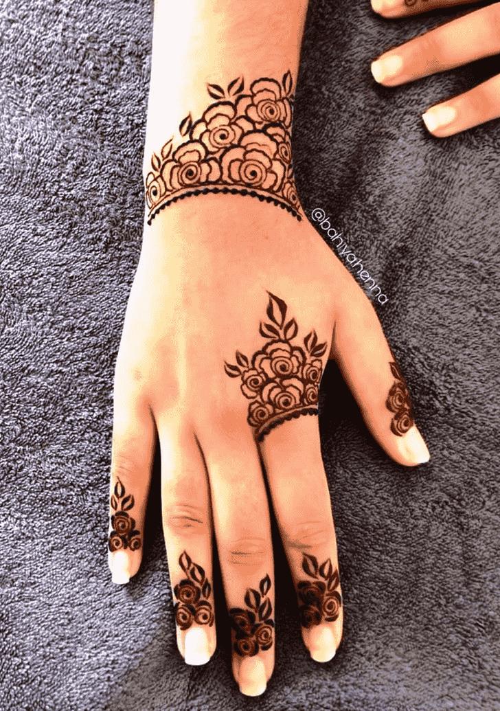 Captivating Jodhpur Henna Design