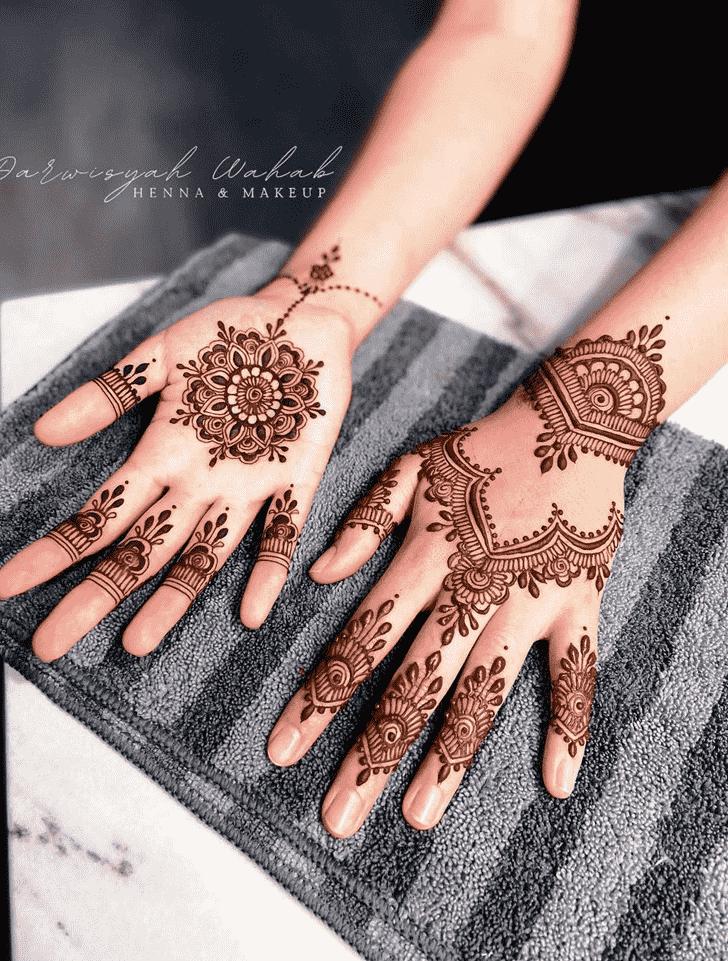 Classy Jodhpur Henna Design