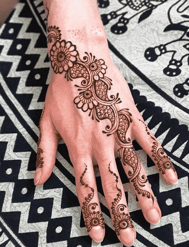 Appealing Kandahar Henna Design