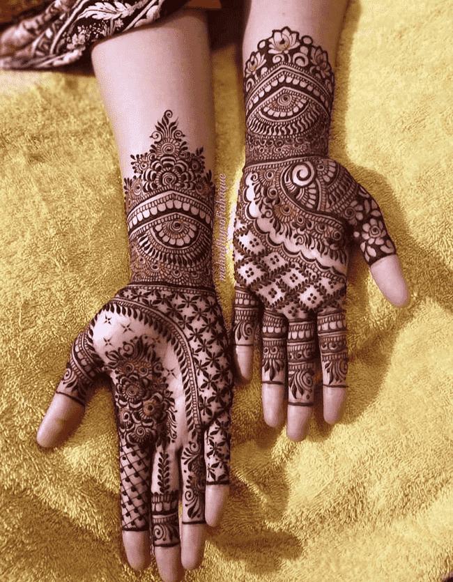 Bewitching Kandahar Henna Design