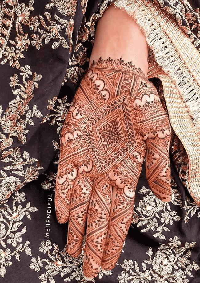 Charming Kandahar Henna Design