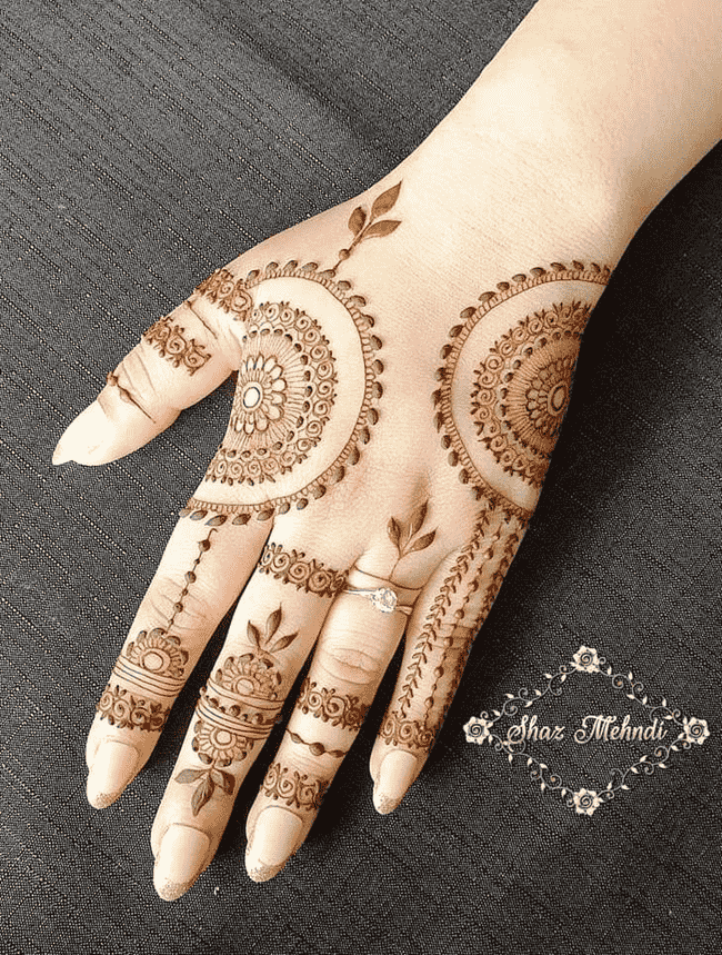 Classy Kandahar Henna Design