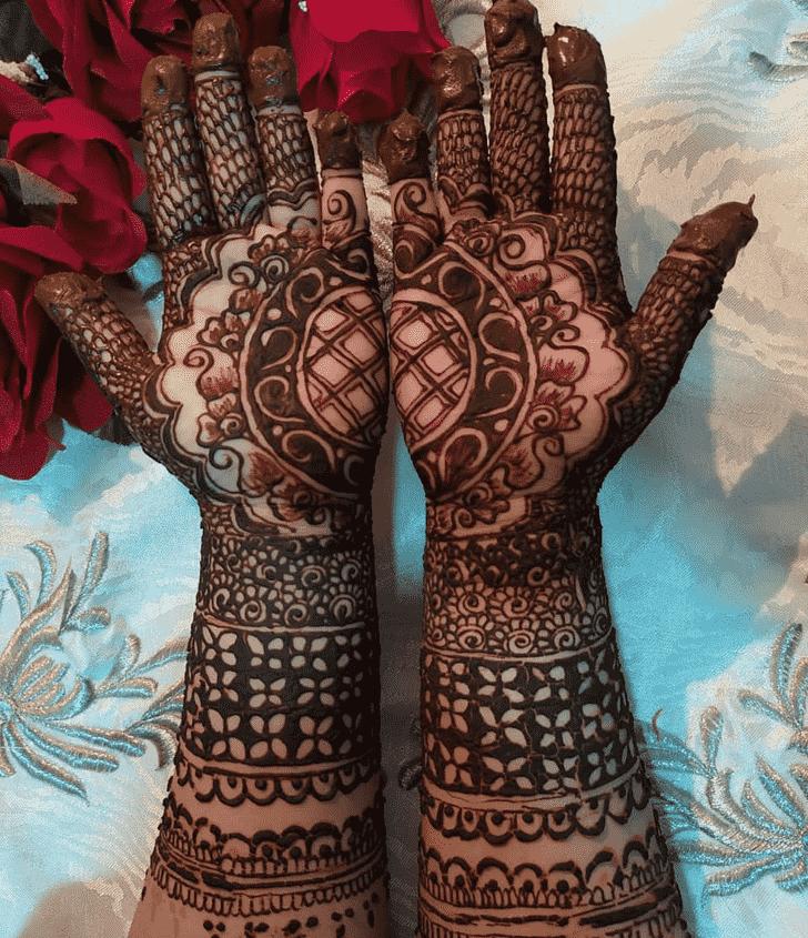 Alluring Kanpur Henna Design