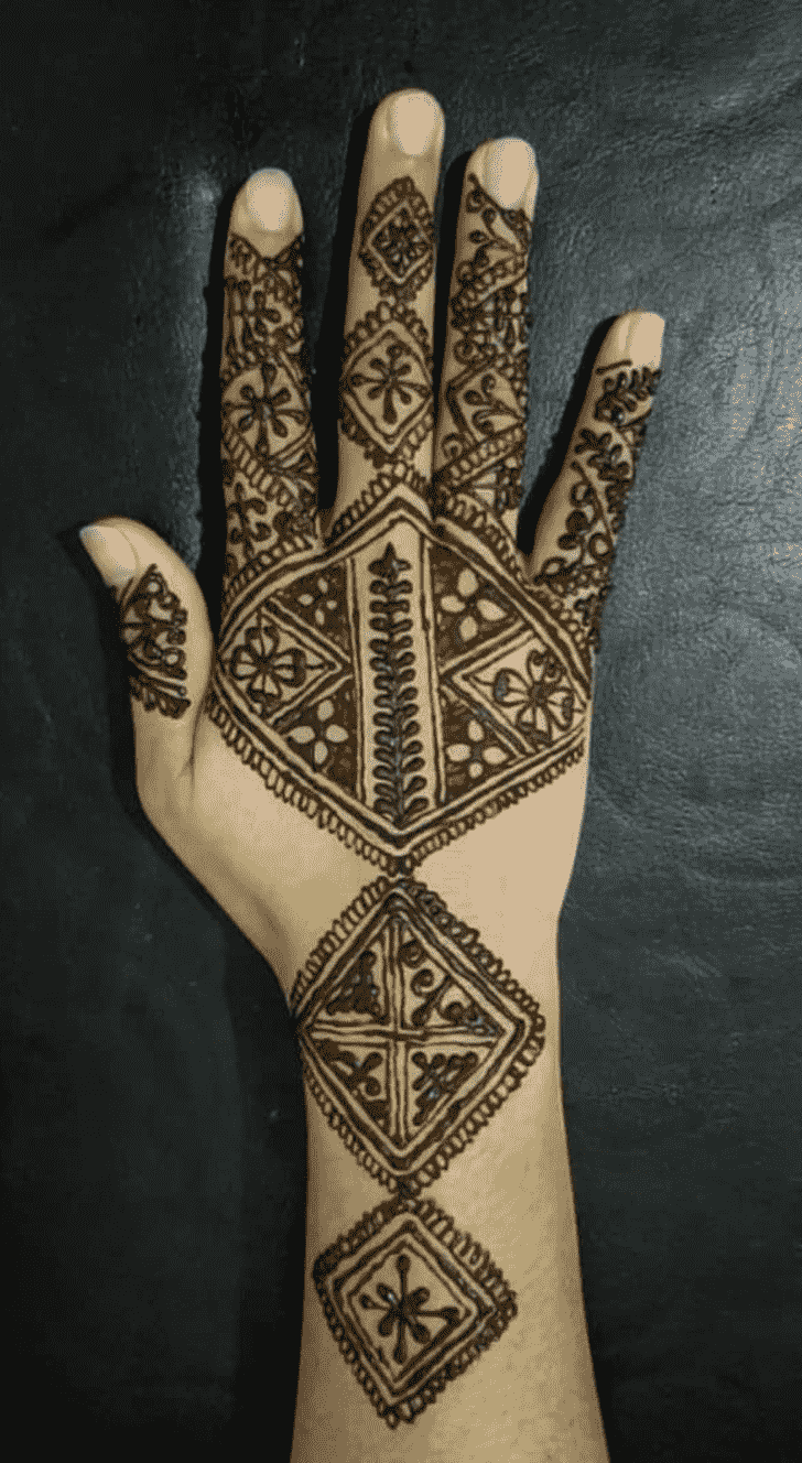 Appealing Kanpur Henna Design