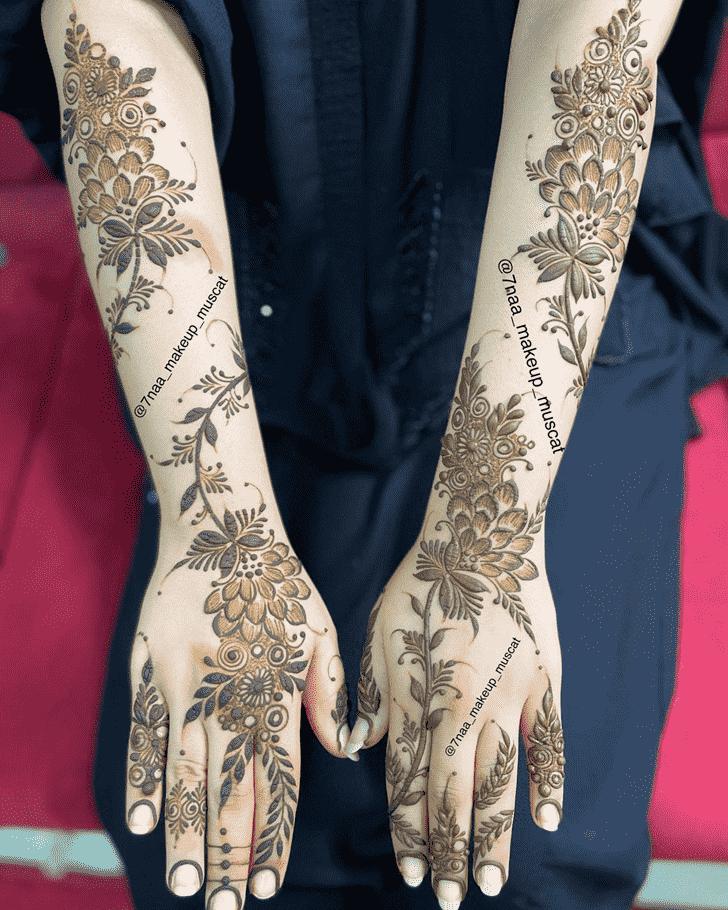 Charming Kanpur Henna Design