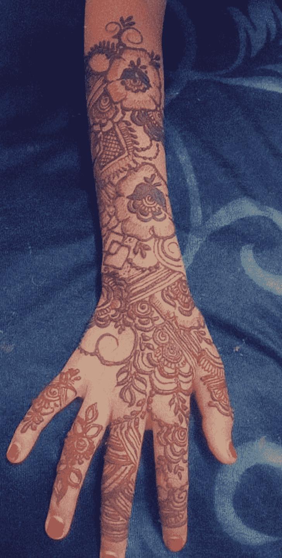 Classy Kanpur Henna Design