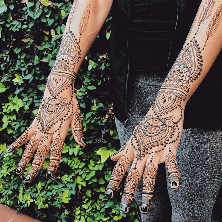 Adorable Karachi Henna Design