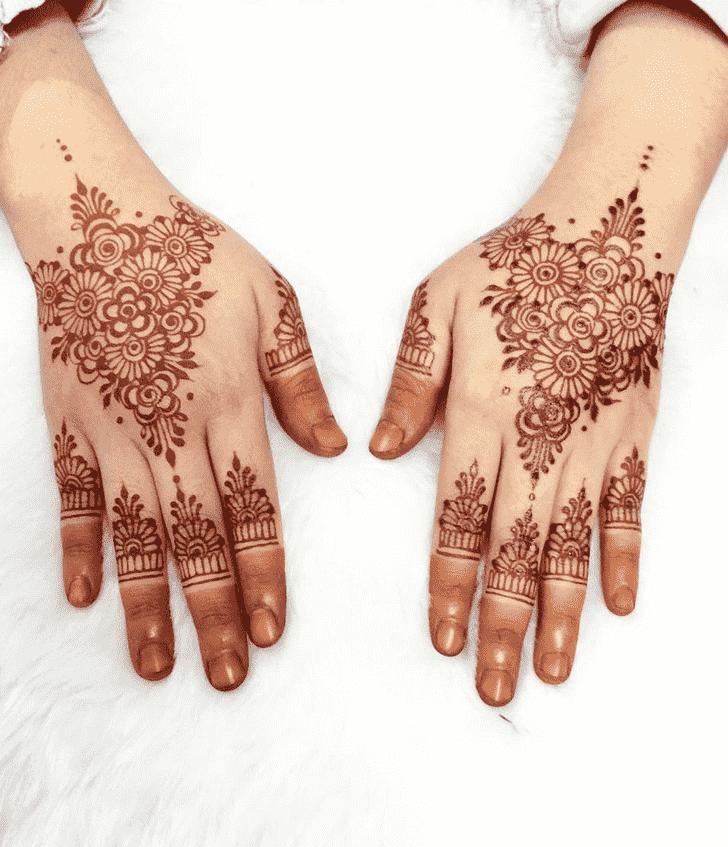 Angelic Kasol Henna Design