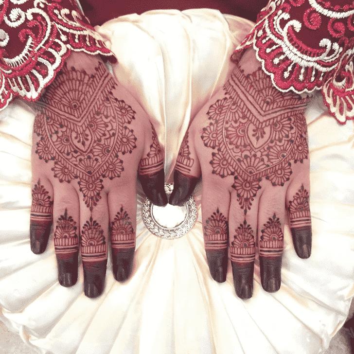 Bewitching Kasol Henna Design