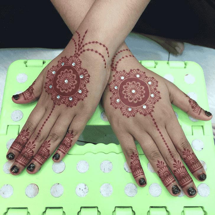 Classy Kasol Henna Design