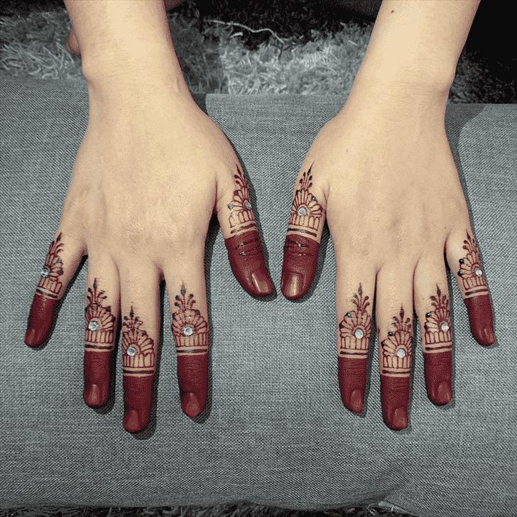 Elegant Kasol Henna Design