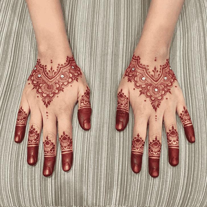 Fine Kasol Henna Design