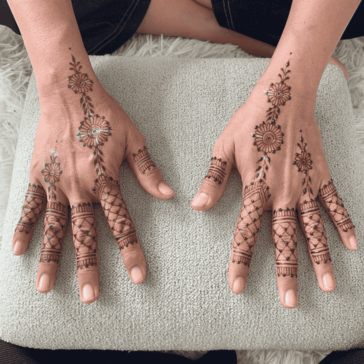 Grand Kasol Henna Design