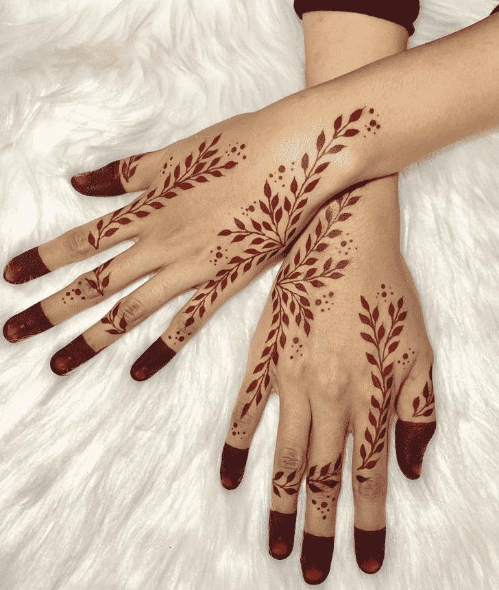 Magnetic Kasol Henna Design