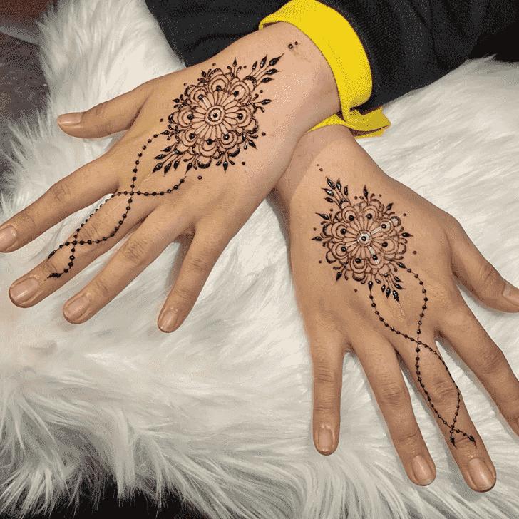 Nice Kasol Henna Design