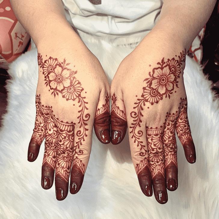 Radiant Kasol Henna Design