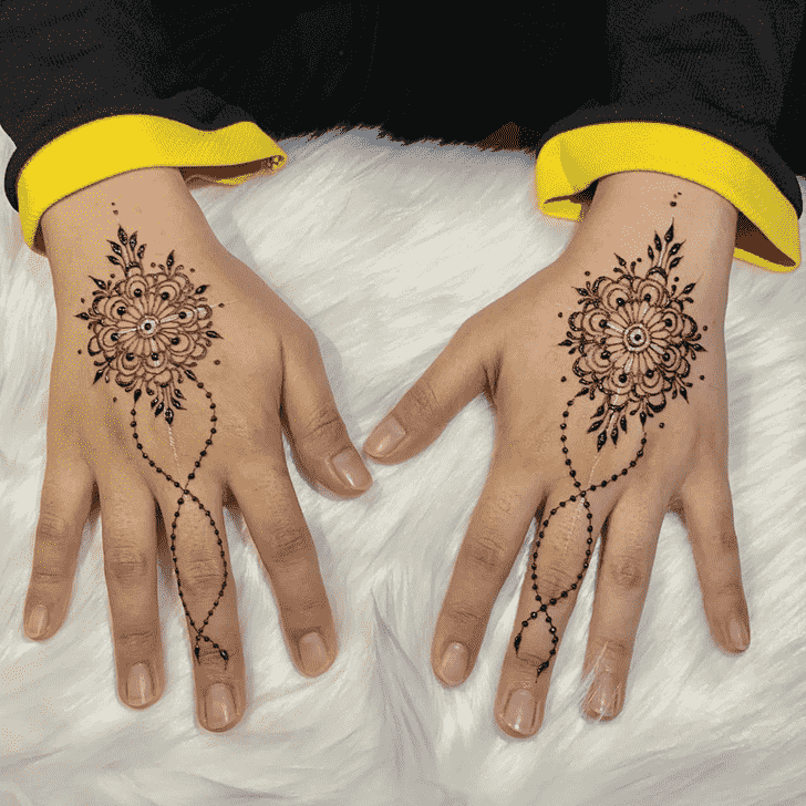 Ravishing Kasol Henna Design