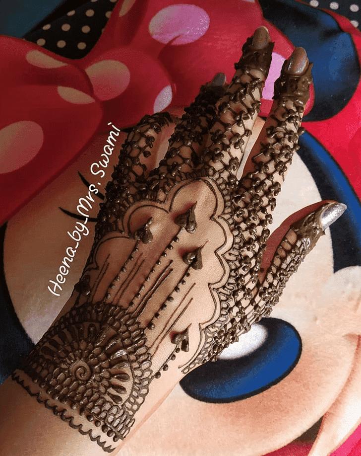 Adorable Kathmandu Henna Design
