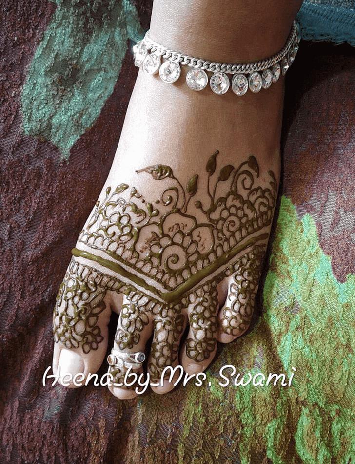 Alluring Kathmandu Henna Design