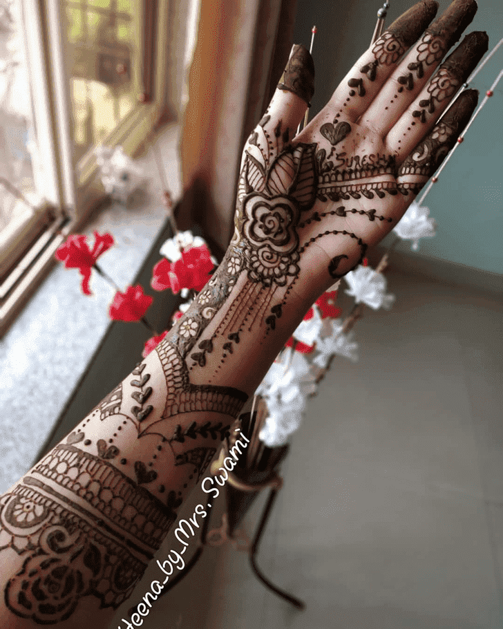 Angelic Kathmandu Henna Design