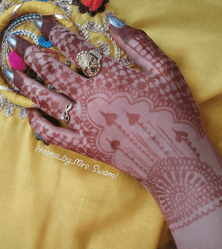 Appealing Kathmandu Henna Design