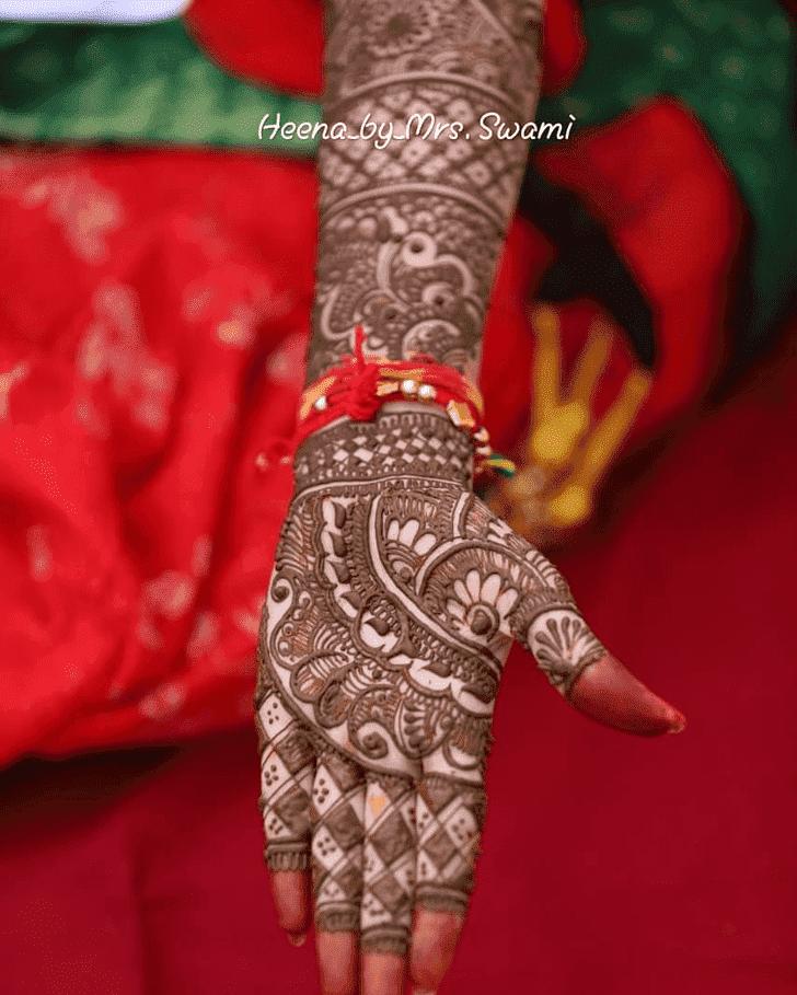 Beauteous Kathmandu Henna Design