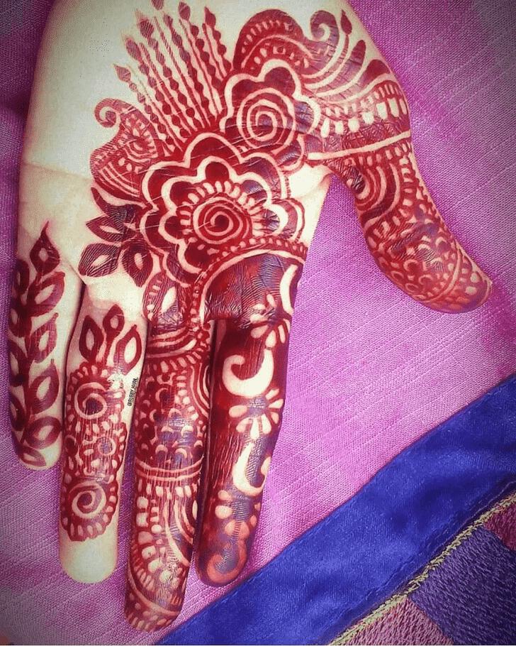 Bewitching Kathmandu Henna Design