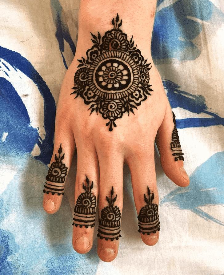 Appealing Kerala Henna Design