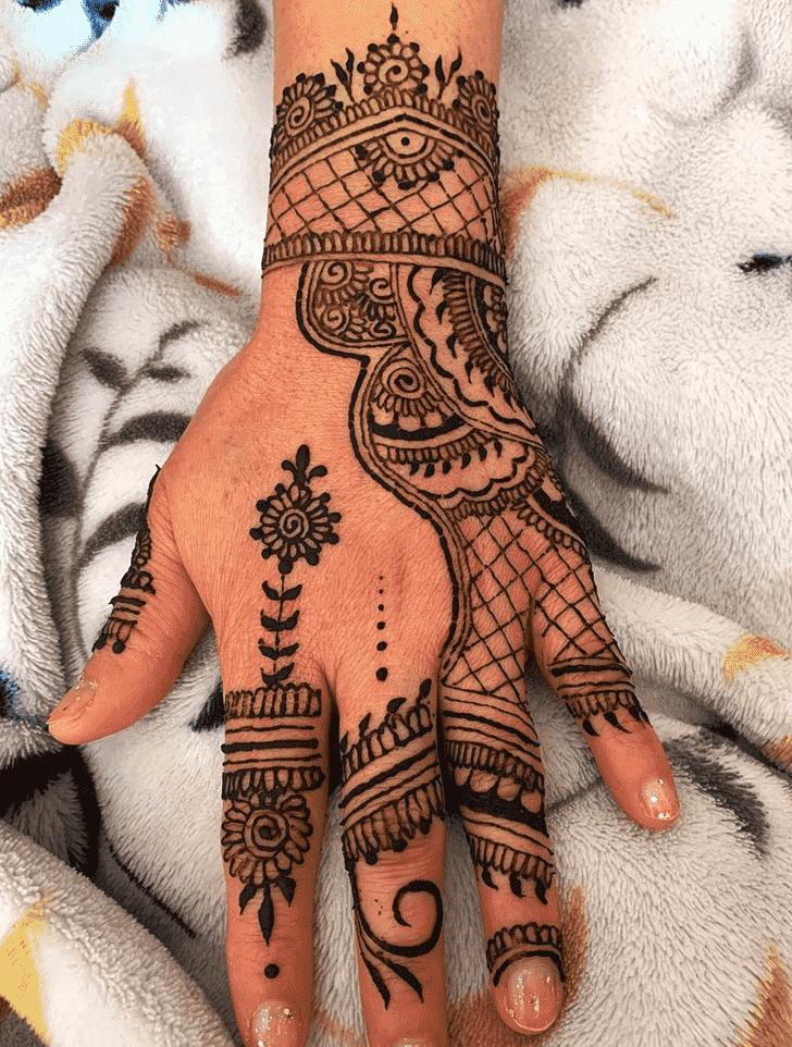 Captivating Kerala Henna Design