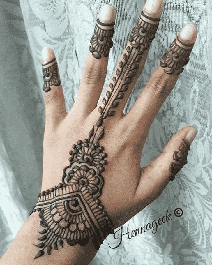 Admirable Khost Mehndi Design