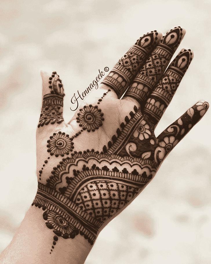 Appealing Khost Henna Design