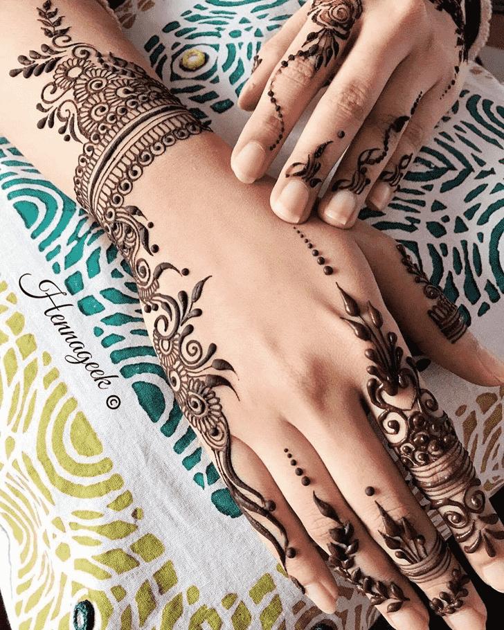 Beauteous Khost Henna Design