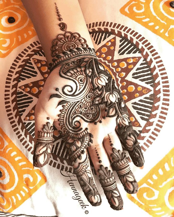 Charming Khost Henna Design