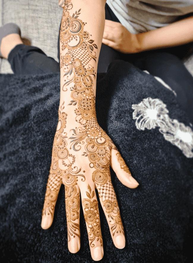 Angelic Khulna Henna Design