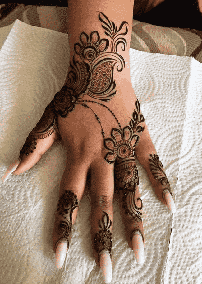 Beauteous Khulna Henna Design