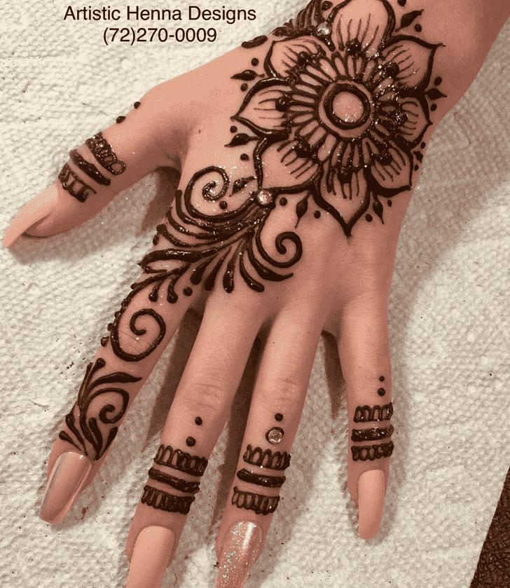 Charming Kids Henna Design