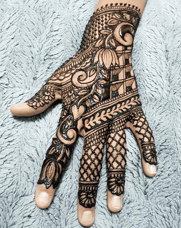 Classy Kids Henna Design