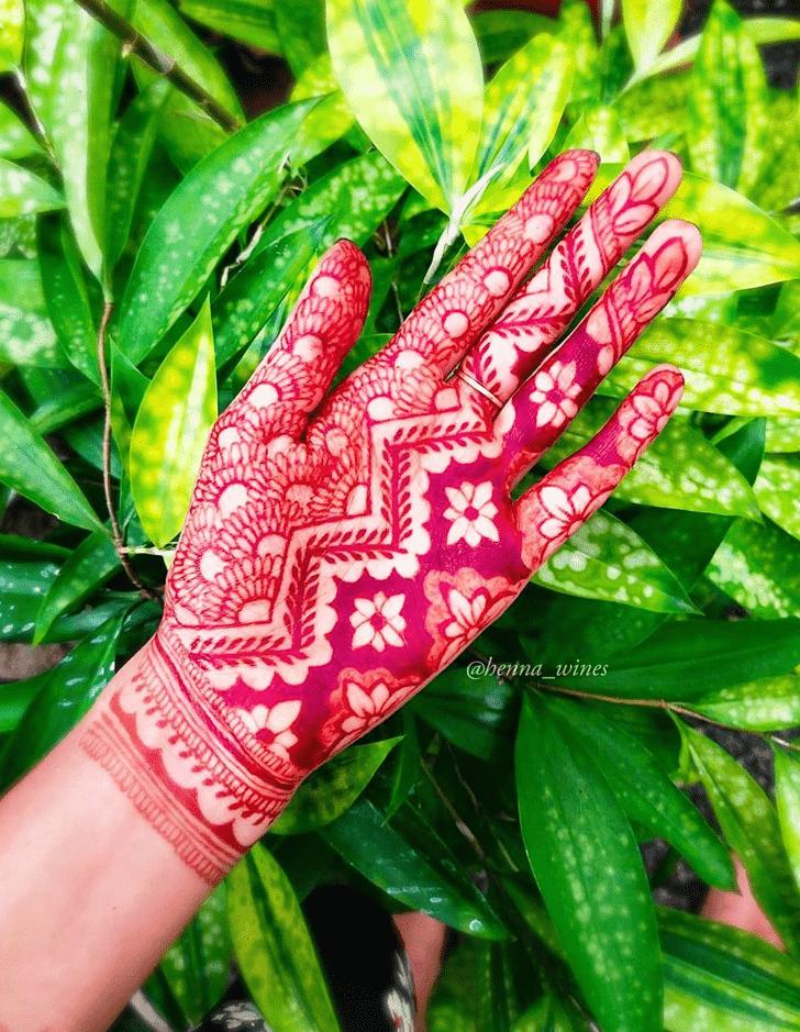 Adorable Kochi Henna Design
