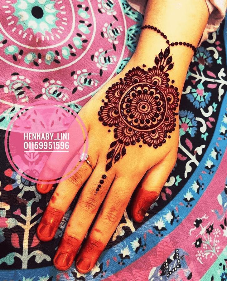 Alluring Kochi Henna Design