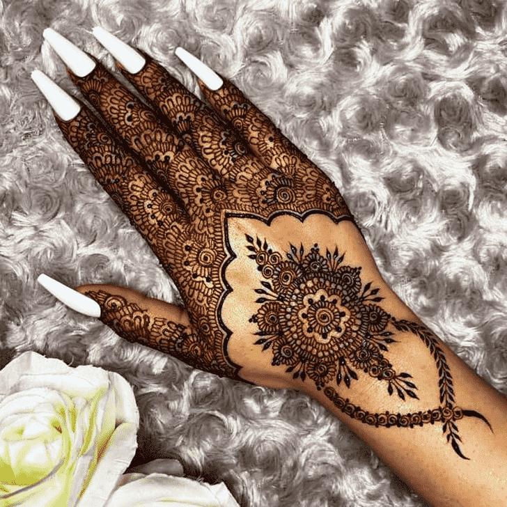 Appealing Kochi Henna Design