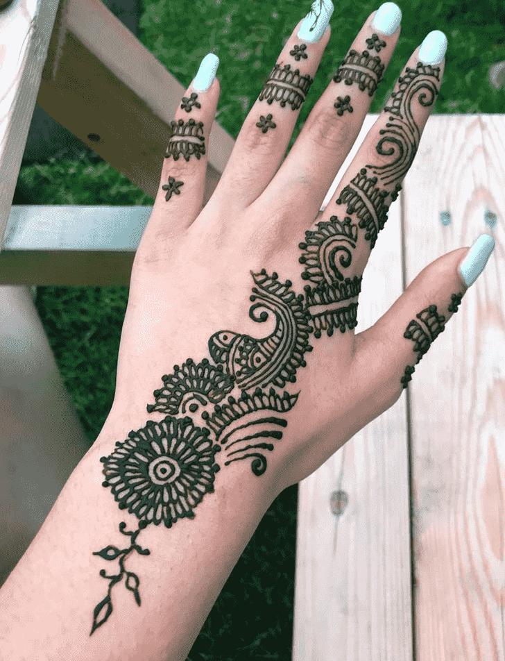 Angelic Kolkata Henna Design