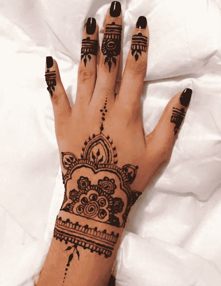 Beauteous Kolkata Henna Design