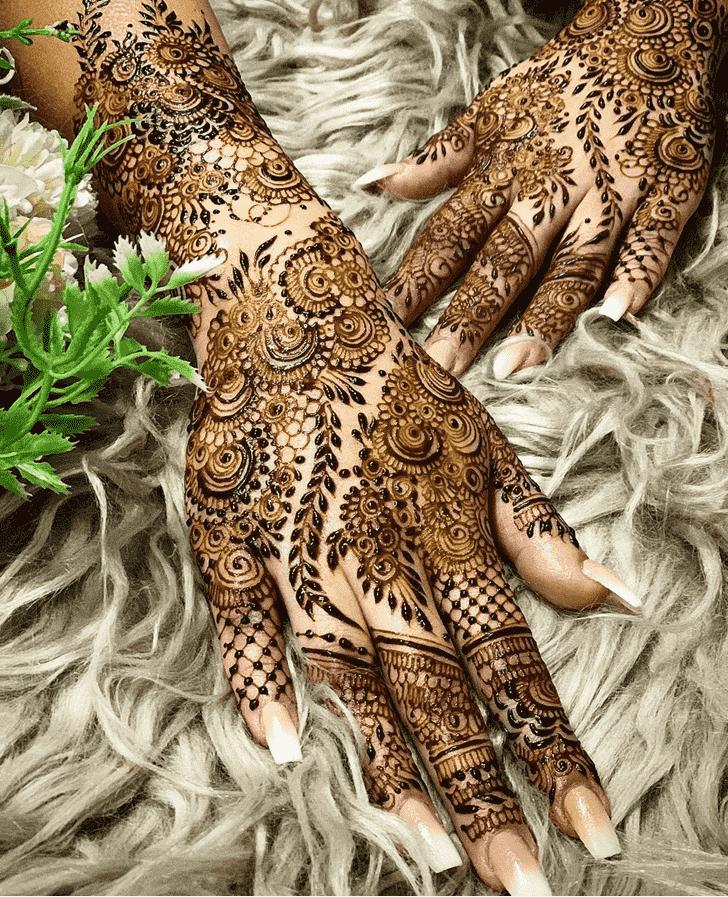 Classy Kolkata Henna Design