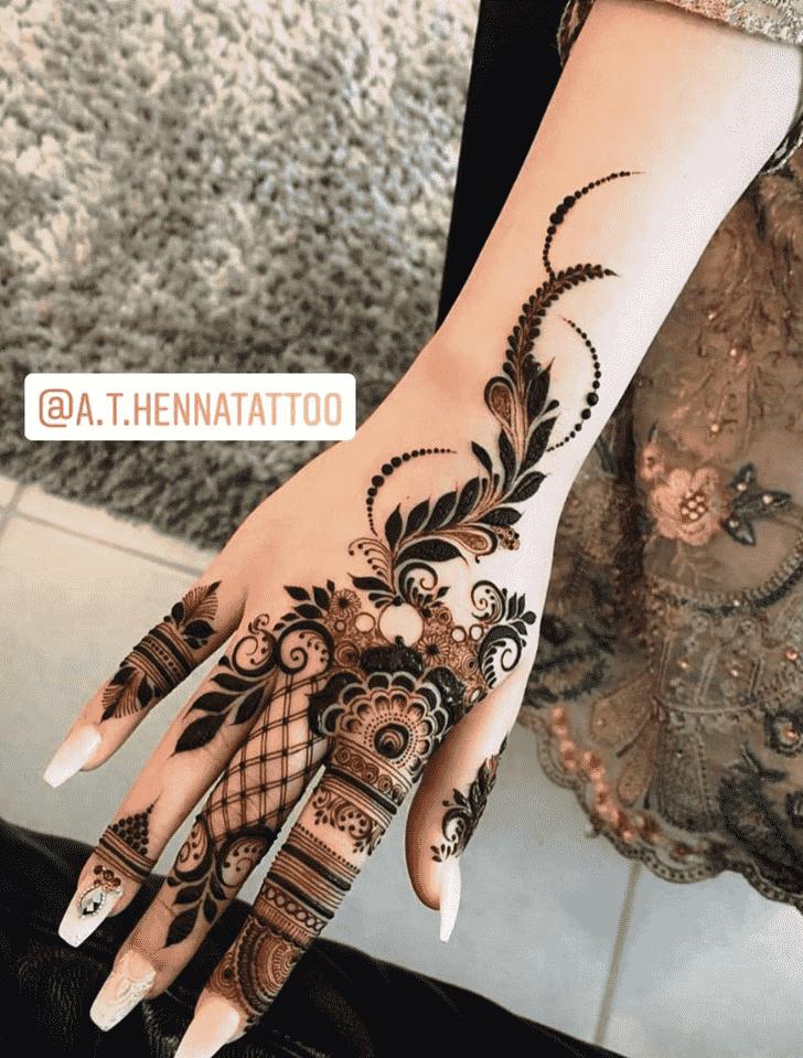 Adorable Kunduz Henna Design