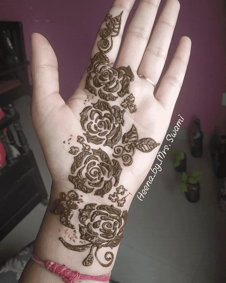 Adorable Kuwait Henna Design